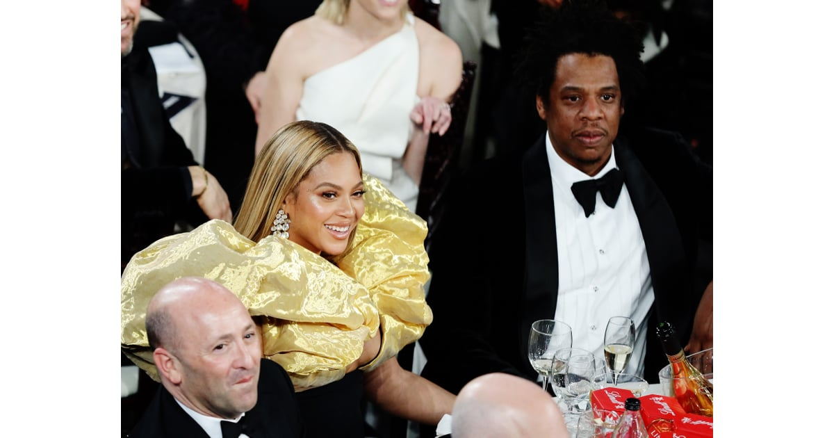 Celebrity Entertainment Why Yes Beyonce And Jay Z Brought Their Own Champagne To The Golden Globes Popsugar Celebrity Photo 10
