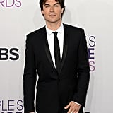 Ian Somerhalder posed at the People's Choice Awards.