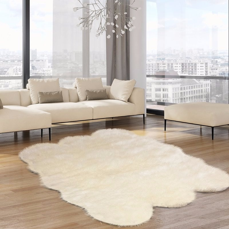 11 Faux Fur Rugs That Will Give Any Room An Instant Face Lift