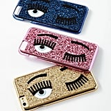 Chiara Ferragni Winking Eye Glitter iPhone 7 Case