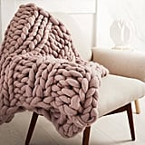 Lauren Aston Designs Welcombe Chunky Hand Knitted Throw