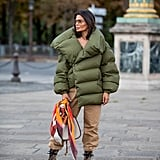 Winter Outfit Idea: An Oversize Puffer and Cargo Pants
