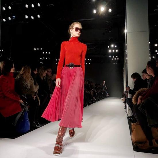 باتريك سوايا يختبر تصوير الآيفونX خلال أسبوع الموضة في باريس