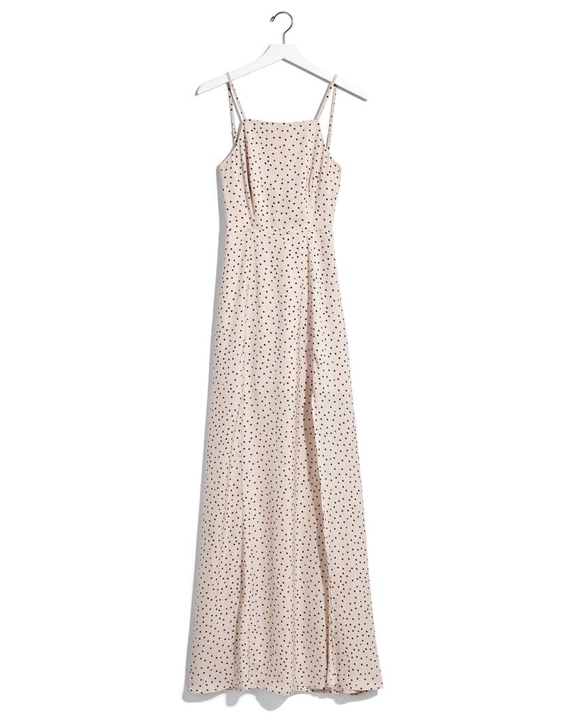 Karlie Kloss x Express Dot Print Tie Back Maxi Dress ($88)