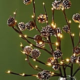 Twinkling Pinecone Branches
