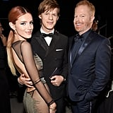 Pictured: Jesse Tyler Ferguson, Bella Thorne, and Lucas Hedges