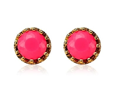 Juicy Couture Princess Studs ($38)