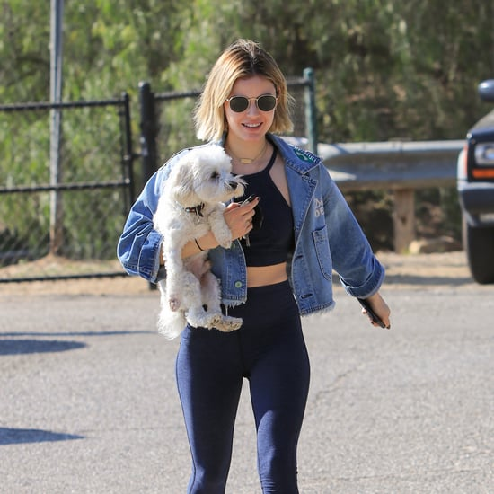 Meet Lucy Hale's 2 Dogs, Elvis and Ethel