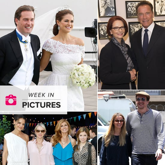 The Week in Pictures: A Lavish Royal Wedding, Julia Gillard & Arnie, Jason's Australian Girlfriend & More!