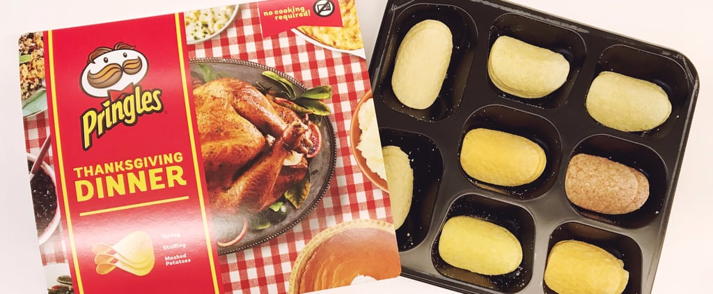 Pringles Re-Created an Entire Thanksgiving Dinner With New Flavors, and We Tried Them