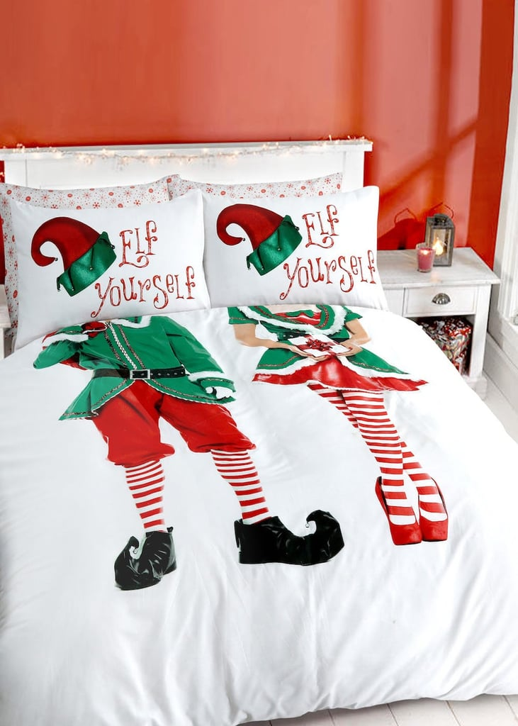 Matalan Elf Yourself His and Hers Duvet Cover