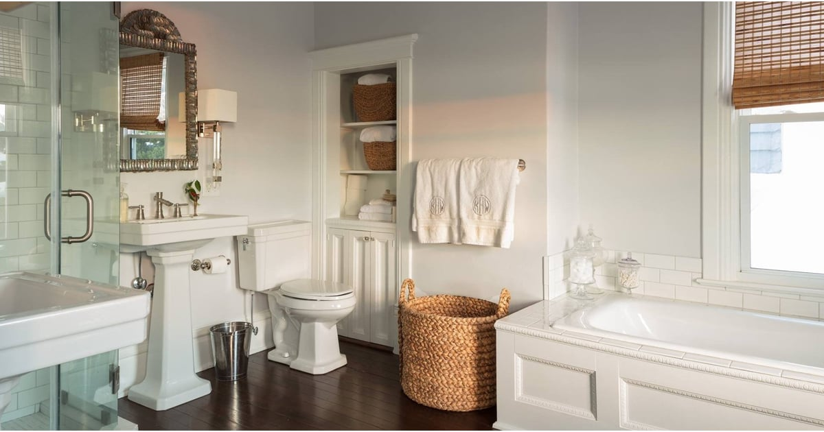 Best bathroom paint colors popsugar home Best bathroom paint colors 2017