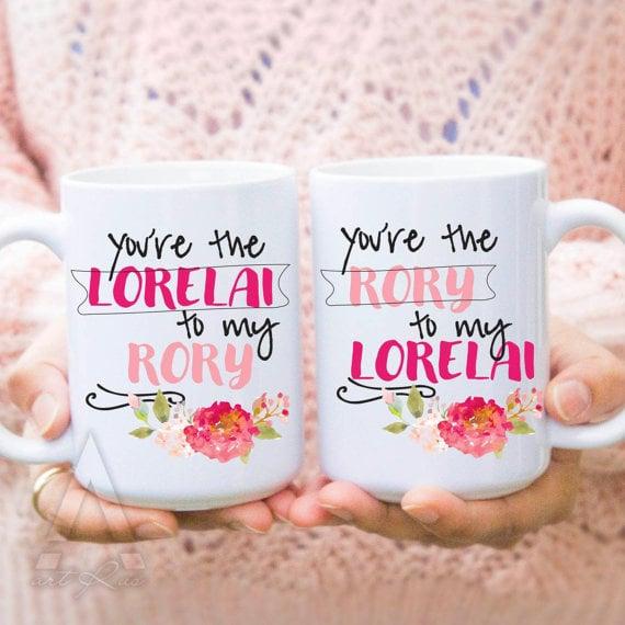 Lorelai and Rory Mugs