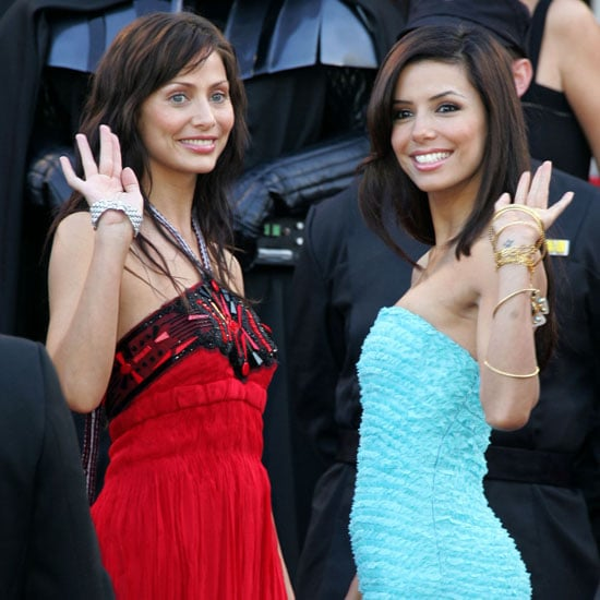 Natalie Imbruglia and Eva Longoria were both on hand for the 2005 premiere of Star Wars: Episode III — Revenge of the Sith.