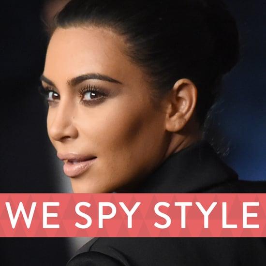Kim Kardashian Wears a Fur Bikini | We Spy Style