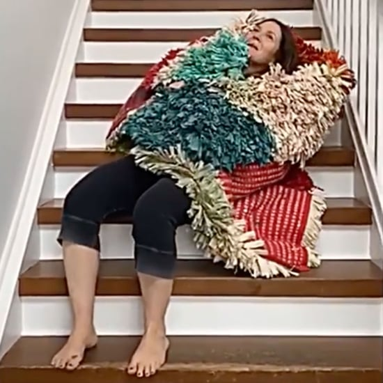 Drew Barrymore Fails the Staircase Instagram Challenge Video