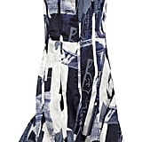 Oscar de la Renta for The Outnet printed silk-satin dress ($795)