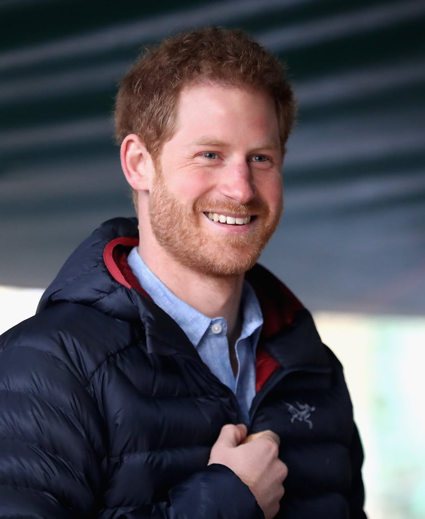"""Prince Harry is well-known for his generosity and philanthropic efforts, and on Monday, the young royal paid a special visit to the Help For Heroes recovery centre at Tedworth House. Harry met with former service members participating in the Hidden Wounds program, which supports those struggling with anxiety, PTSD, and other military-related issues. He also reflected on his experience serving in the military for 10 years and what helped him fully recover after leaving. """"Getting back your mental health, mental well-being, your mental fitness is a really important thing,"""" he explained. """"A lot of civilians don't get it and actually it can be frowned upon sometimes, but to individuals like you, and the rest of them, without it you can't function at all — it's got to be part of the recovery process.""""  January is shaping up to be an exciting month for Harry. In addition to whisking girlfriend Meghan Markle away to see the Northern Lights in Norway, the two extended their holiday so they could enjoy """"lazy days together"""" in London, and last week, Harry joined the Duke and Duchess of Cambridge in announcing their plans for their Heads Together foundation. We can't wait to see what he has in store for us in the months to come!      Related:                                                                                                           The Major Dating Milestones Meghan Markle and Prince Harry Could Hit This Year"""