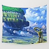 Castle in the Sky Wall Tapestry ($39)