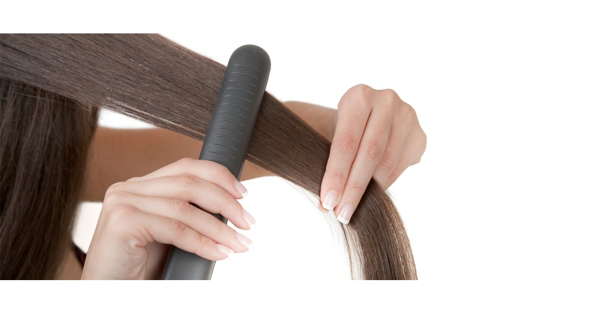 How To Flat Iron Without Causing Damage Popsugar Beauty