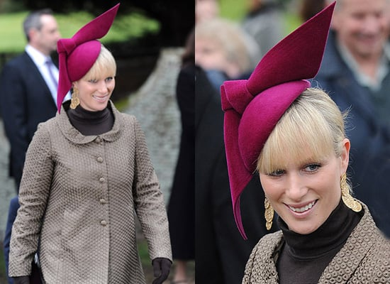 Zara Philip's Bright Hat