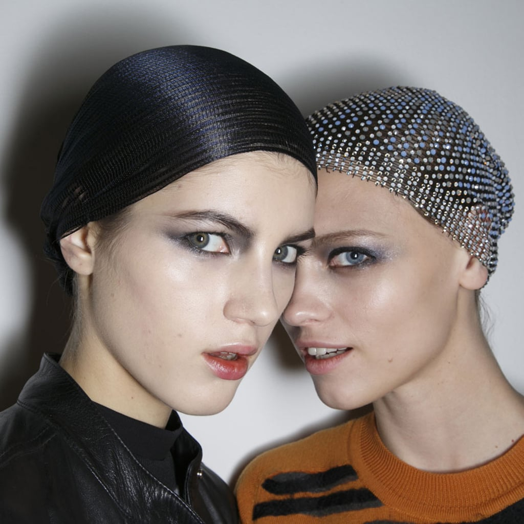 Armani prive hair and makeup spring 2014 haute couture for Haute hairie