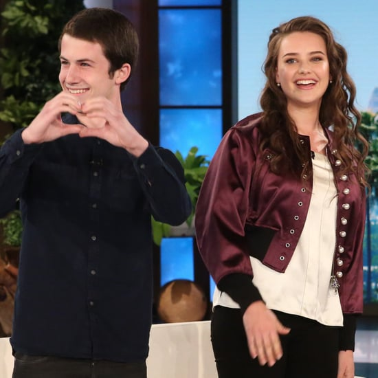Katherine Langford and Dylan Minnette on Ellen DeGeneres