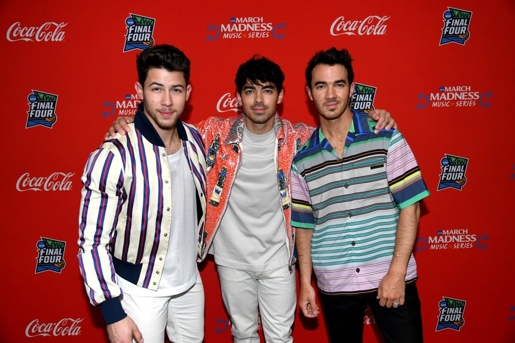 The Jonas Brothers at March Madness Music Series