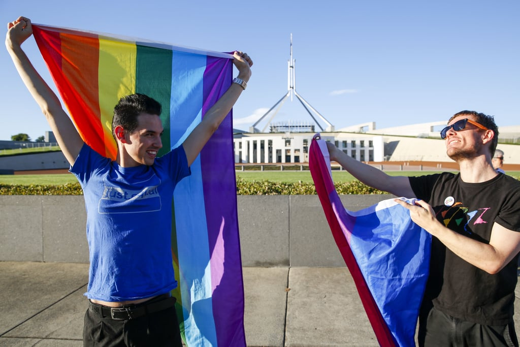 These Pictures of Aussies Celebrating the Same-Sex Marriage Win Will Make You Emotional