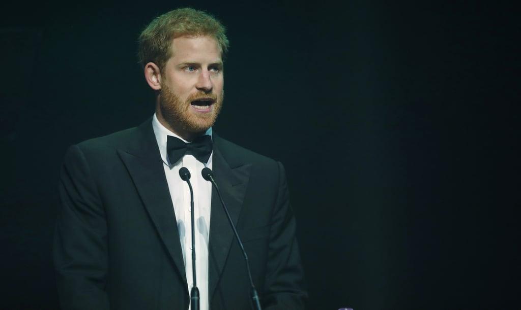 Prince Harry at the 2017 Attitude Awards