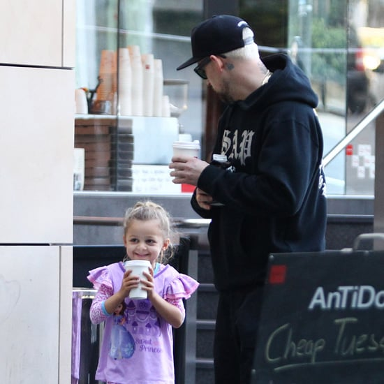 Nicole Richie and Joel Madden Getting Coffee in Sydney