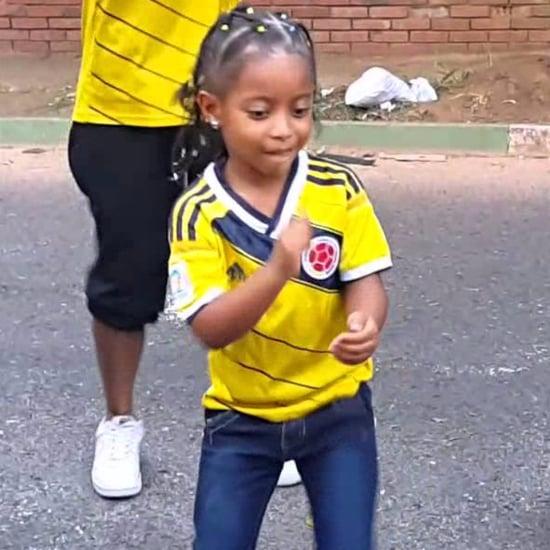 Little Girl Salsa Dancing Video