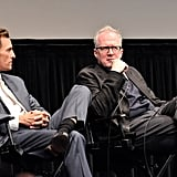 Matthew McConaughey took the stage with Tracy Letts at the Killer Joe screening in NYC.