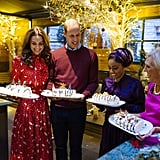 The Duke and Duchess of Cambridge With Nadiya Hussain and Mary Berry