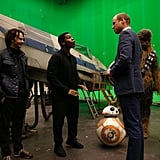 William, Harry, and John Boyega