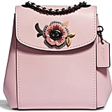Coach Tea Rose Convertible Leather Backpack