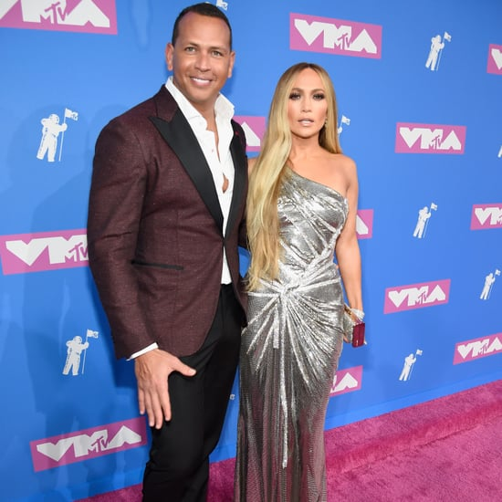 Jennifer Lopez and Alex Rodriguez at the VMAs 2018
