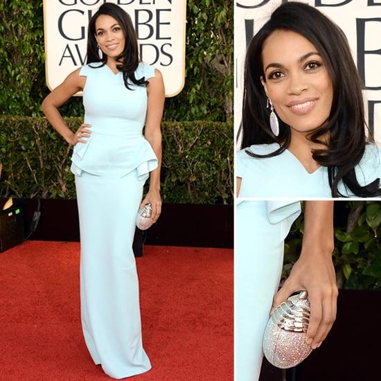 Rosario Dawson | Golden Globes Red Carpet Fashion 2013