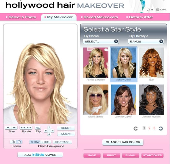 In Style Lets You Try Out Celebrity Hairstyles