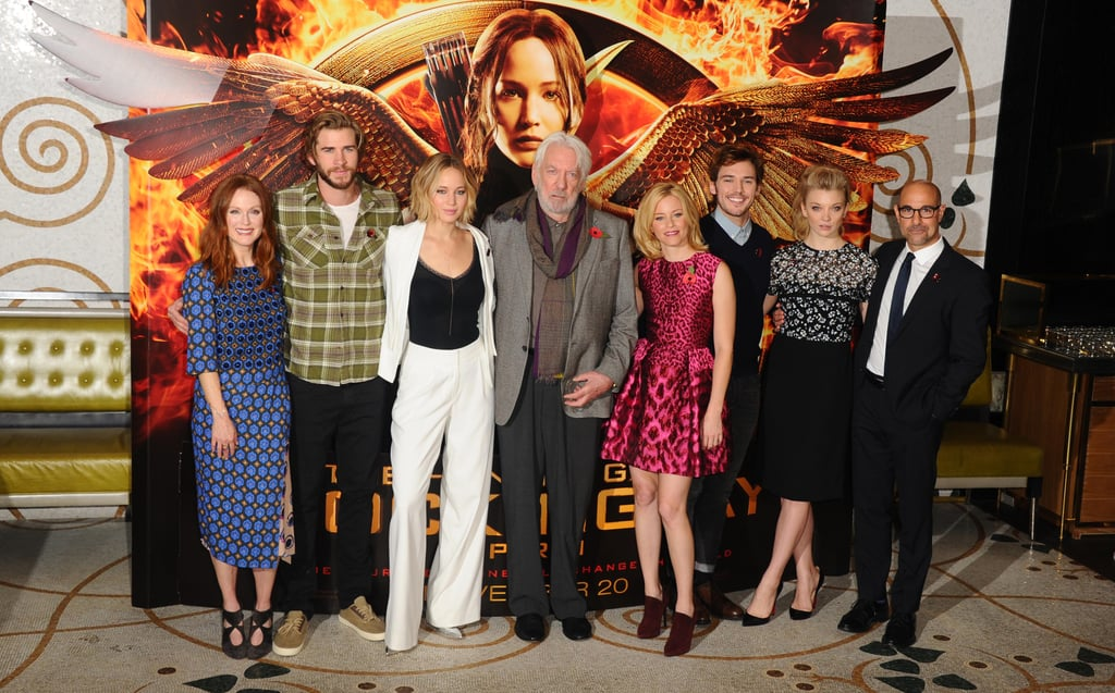Strep Throat Won't Stop Jennifer Lawrence From Promoting Mockingjay