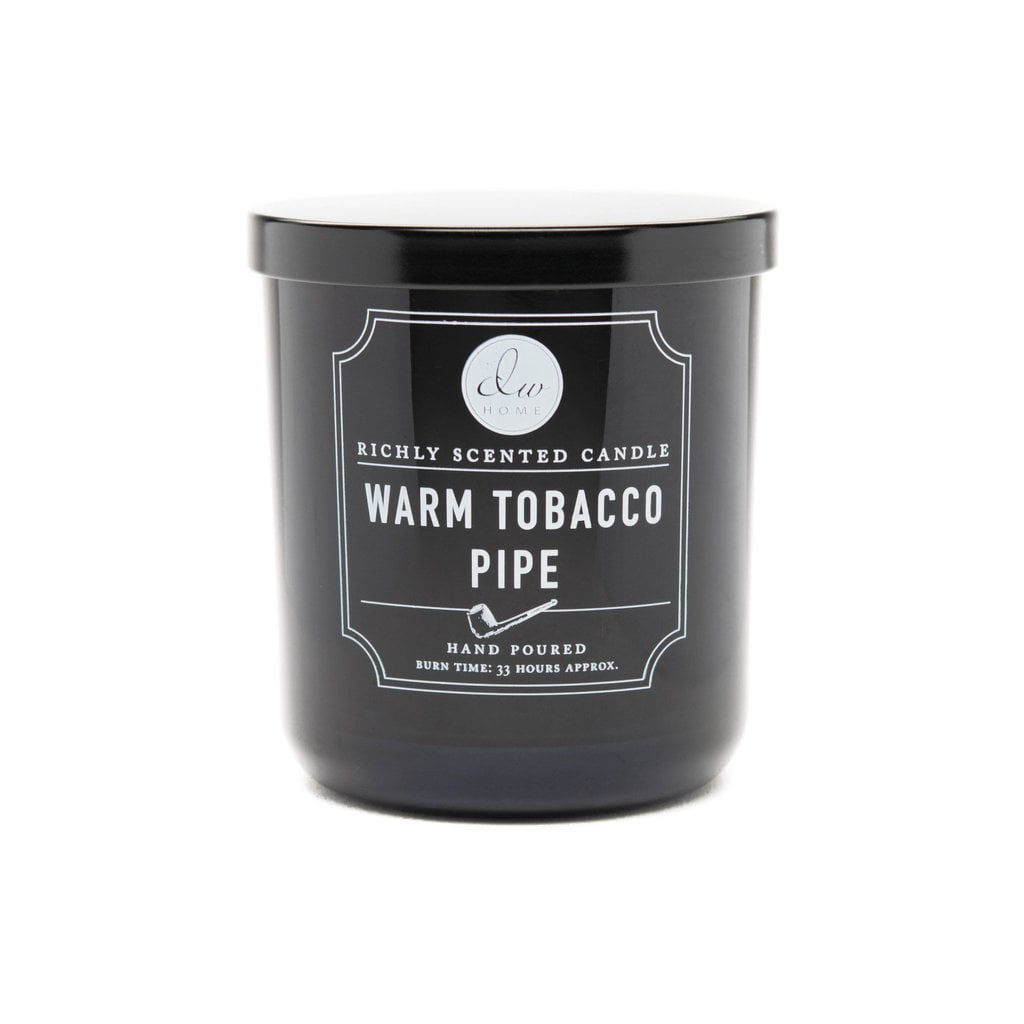 DW Home Scented Candles Warm Tobacco Pipe Candle