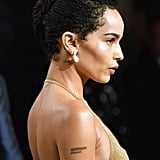 Zoë Kravitz's Braided French Twist
