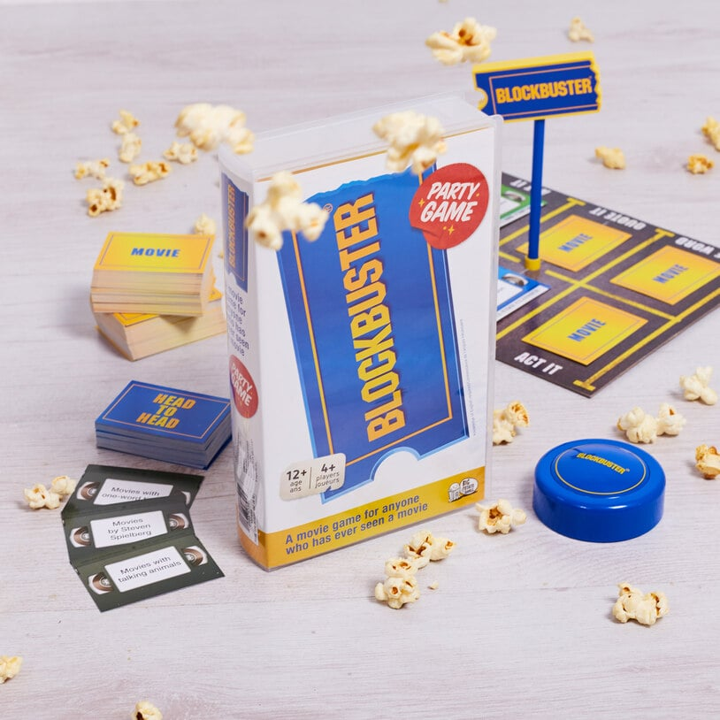 Pass the Popcorn! A Blockbuster Party Game Exists For Your Next Nostalgic Game Night
