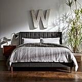 Rivet Kyler Tufted Midcentury Upholstered King Bed