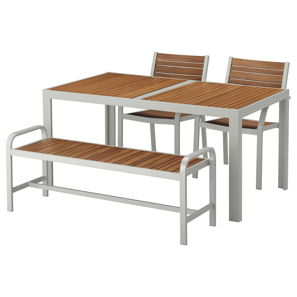 Själland Table and 2 Chairs and Bench