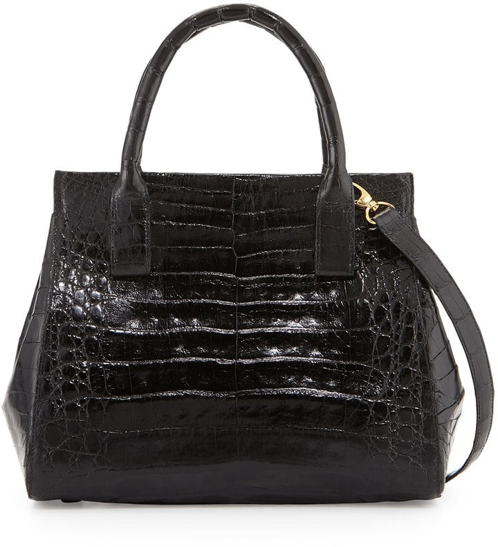 Nancy Gonzalez Loop Crocodile Small Satchel Bag ($3,350)