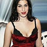 Amy attended the Brit Awards nominations in January 2004, not long after her debut album, Frank, was released.