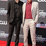 Christopher Mintz-Plasse and Dave Franco made a dapper duo on the Young Hollywood Awards red carpet.
