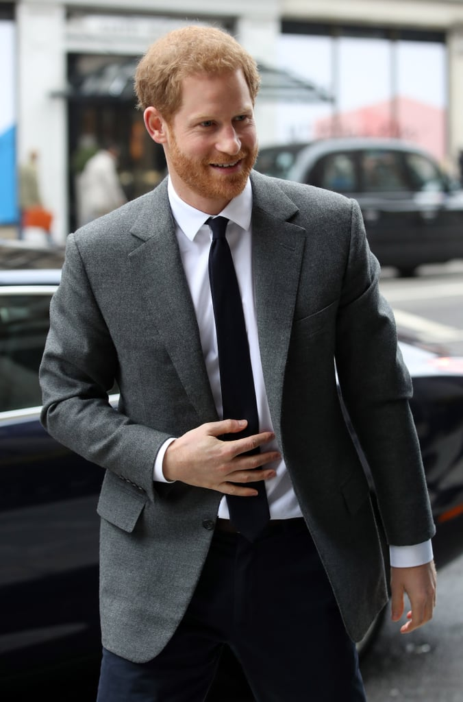 "The countdown for the royal wedding is on, but Prince Harry is sticking to business as usual. The 33-year-old, who is set to tie the knot with Meghan Markle next month, made a dashing appearance in London on Wednesday as he attended the launch of Walk of America. The event, which sheds light on wounded soldiers and opens up the conversation surrounding mental health, will feature a team of six veterans from the United States and the United Kingdom as they walk 1,000 miles from the West to East coasts of the US in 14 weeks this Summer.   While Harry won't be joining the veterans for their walk, he might make a special appearance to show his support. Since the event kicks off in Meghan's native LA, there are reports that the couple will embark on a royal tour of the United States for the occasion. ""Meghan wants to take Harry home once they are married on a formal tour,"" a source told Vanity Fair. ""It's her home and she would love to go there with Harry after the wedding."" Not to mention it would give Harry an opportunity to reunite with friends Barack and Michelle Obama since they won't be attending his wedding. See more from Harry's recent outing ahead.       Related:                                                                                                           4 Major Royal Milestones Prince Harry and Meghan Markle Have Already Hit This Year"