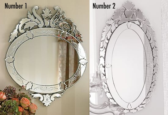 Less or More: Venetian Mirrors